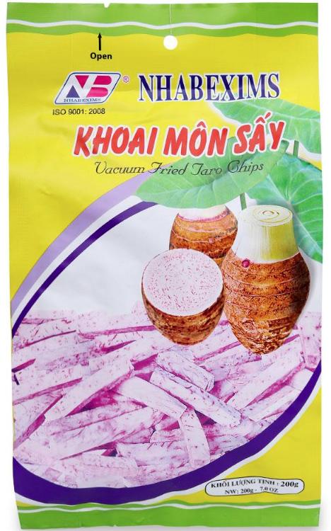 KHOAI MÔN SẤY